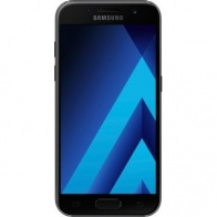 Смартфон Samsung Galaxy A3 2017 Black (А320)