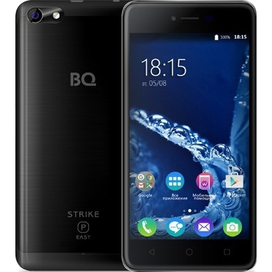 Смартфон BQ-5058 Strike Power Easy SE 8 Гб Черный