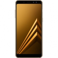 Смартфон Samsung Galaxy A8 2018 Gold