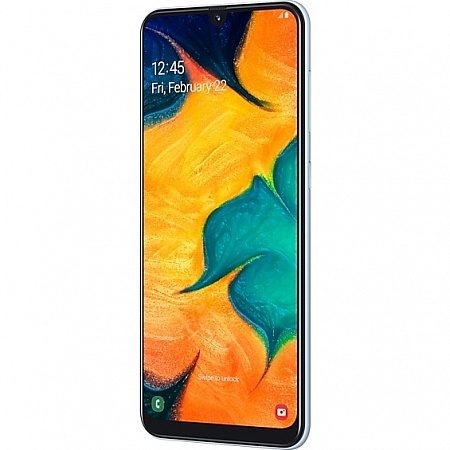 Смартфон Samsung Galaxy A30 32GB Белый