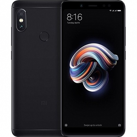 Смартфон Xiaomi Note 5 4/64Gb Black